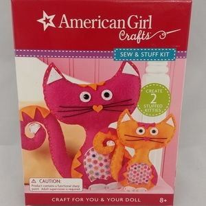 American Girl Crafts Sew and Stuff Kit Cats